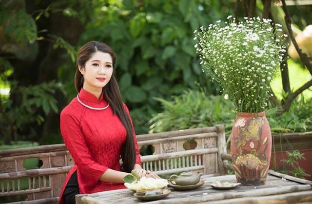 """Thiếu nữ Việt """"sinh ra để mặc áo dài"""" - 13"""