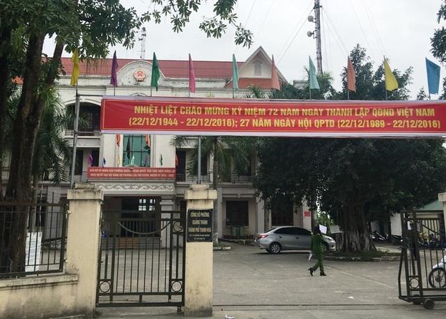 UBND phường Quảng Thành, thành phố Thanh Hóa