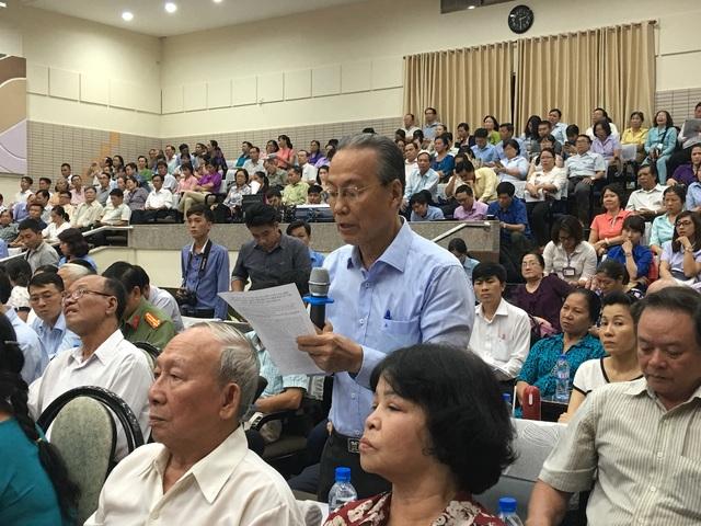 Cử tri TPHCM rất quan tâm tới sự việc mới xảy ra ở Đồng Tâm, Hà Nội.