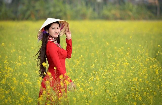 """Thiếu nữ Việt """"sinh ra để mặc áo dài"""" - 16"""
