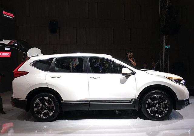 Thiết kế ngoại thất hoàn toàn mới của Honda CR-V thế hệ thứ 5.