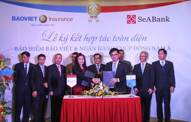 Bảo hiểm Bảo Việt và SeABank ký thỏa thuận hợp tác toàn diện