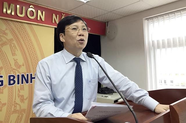 Nhà báo Hồ Quang Lợi - Phó Chủ tịch Thường trực Hội Nhà báo Việt Nam phát biểu tại buổi tọa đàm