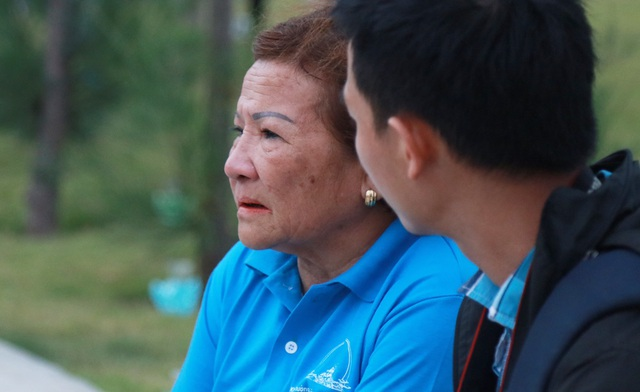 PV Dân trí trò chuyện cùng mẹ Nguyễn Thị Hằng (72 tuổi), mẹ liệt sĩ Hoàng Ánh Đông (Quảng Trị)