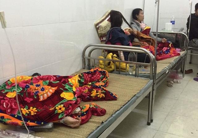 Nhiều công nhân vẫn đang được điều trị tại bệnh viện