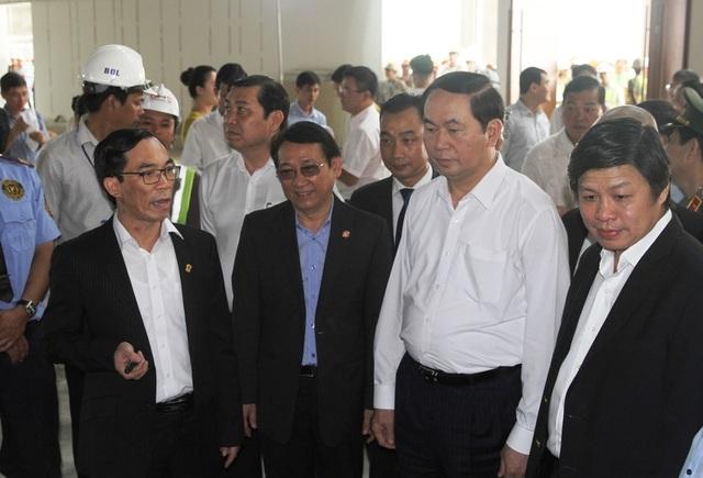 """Chủ tịch nước: """"Làm sao để nụ cười Đà Nẵng khắc sâu trong tim bạn bè quốc tế"""" - 2"""