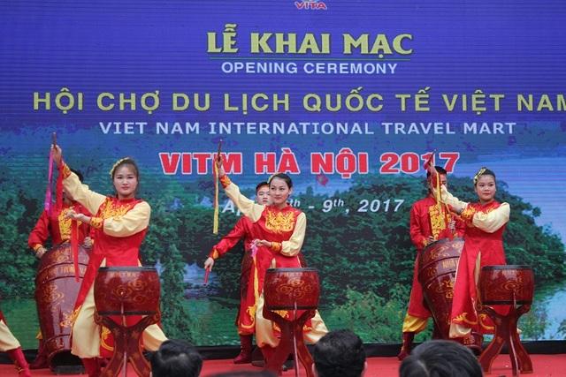 Hội chợ Du lịch Quốc tế Việt Nam đã chính thức được khai mạc vào sáng 6/4 tại Hà Nội