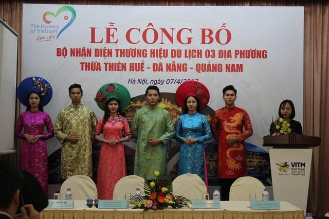 Tại lễ công bố, các sản phẩm du lịch độc đáo của 3 địa phương cũng được giới thiệu đến người xem