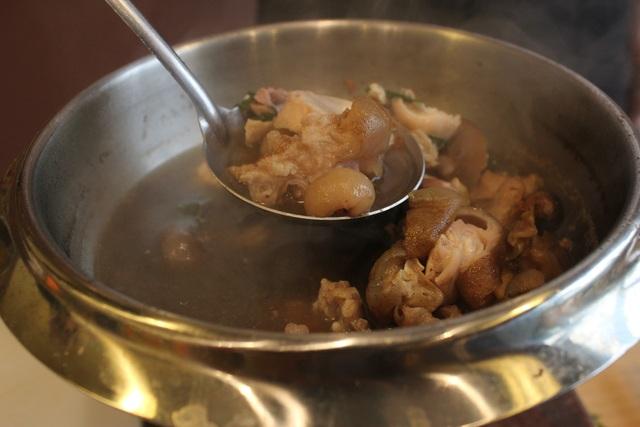 Món ăn bổ dưỡng này được ví là thần dược cho những người yếu sinh lý, suy nhược cơ thể và mới ốm dậy.