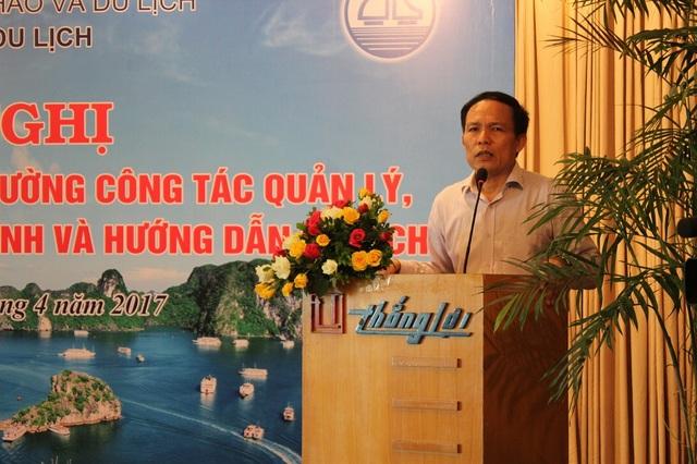 Ông Ngô Hoài Chung khẳng định sẽ tiến hành thanh tra, rà soát và xử lý nghiêm các doanh nghiệp lữ hành không đảm bảo điều kiện hoạt động. (Ảnh: Hà Trang)