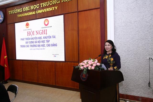 Thứ trưởng Bộ GD&ĐT Nguyễn Thị Nghĩa
