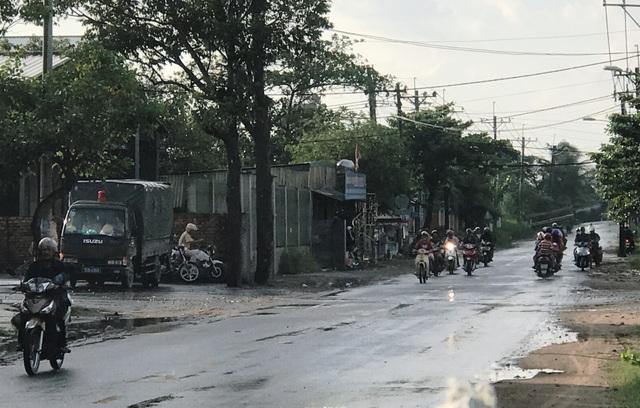 Phát hiện lực lượng CSGT chốt chặn trên đường Nguyễn Xiển, quận 9, TPHCM...