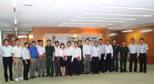 Sơ kết 2 năm phối hợp hoạt động của các tổ chức đoàn thể PV GAS - 1