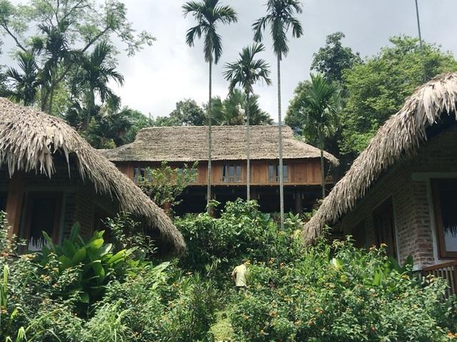 Khu du lịch Pù Luông Retreat tại bản Đôn, xã Thành Lâm, huyện Bá Thước