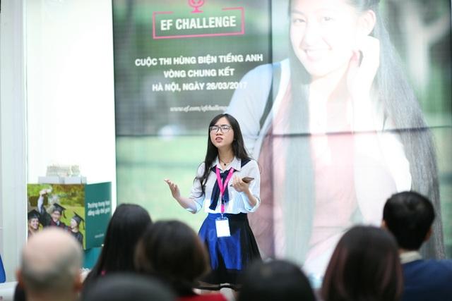 Nữ sinh Lý Khánh Quỳnh, trường THPT Thoại Ngọc Hầu, An Giang