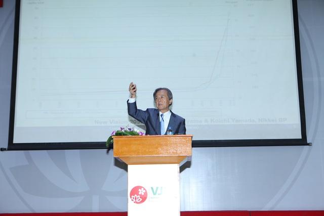 GS. Hiroshi Komiyama, nguyên Giám đốc Đại học Tokyo, Chủ tịch Viện nghiên cứu Mitsubishi.