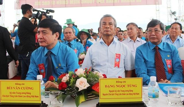 Các đại biểu TƯ và địa phương dự lễ khánh thành Khu tưởng niệm chiến sĩ Gạc Ma