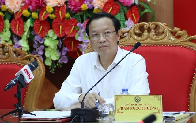 Đồng chí Phạm Ngọc Thưởng Chủ tịch UBND tỉnh Lạng Sơn.