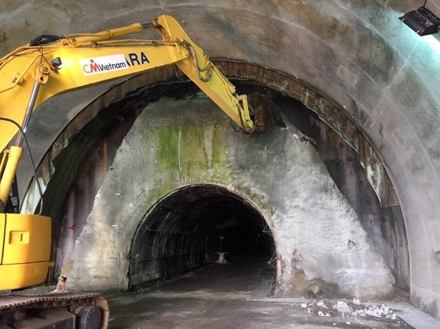 Hầm Hải Vân được khởi công để mở rộng