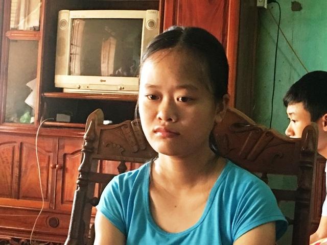 Em Trịnh Thị Hồng, học sinh trường THPT Yên Định 1, đạt 29,3 điểm khối A