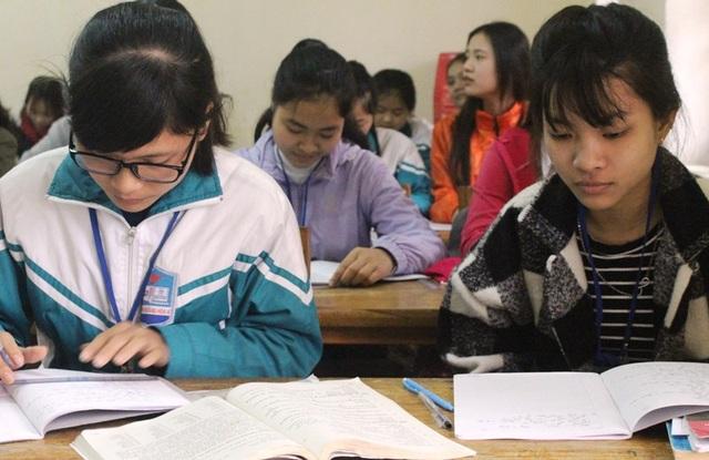 Các đơn vị trường học thông báo về kỳ thi, lịch thi, đảm bảo quyền được thi cho các đối tượng