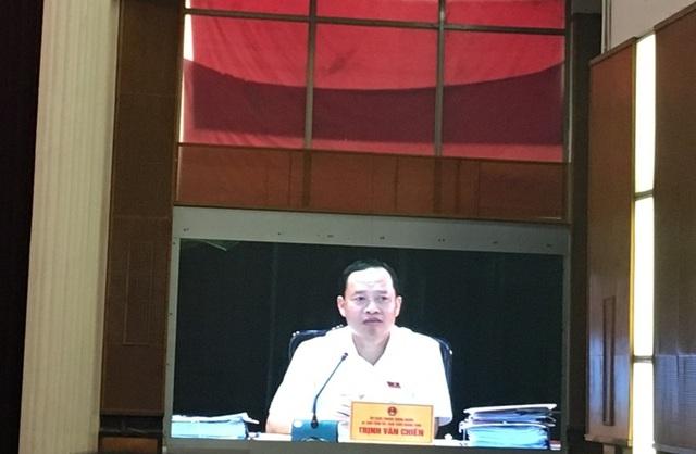 Ông Trịnh Văn Chiến, Bí thư Tỉnh ủy, Chủ tịch HĐND tỉnh Thanh Hóa truy Giám đốc Sở GTVT nhiều vấn đề