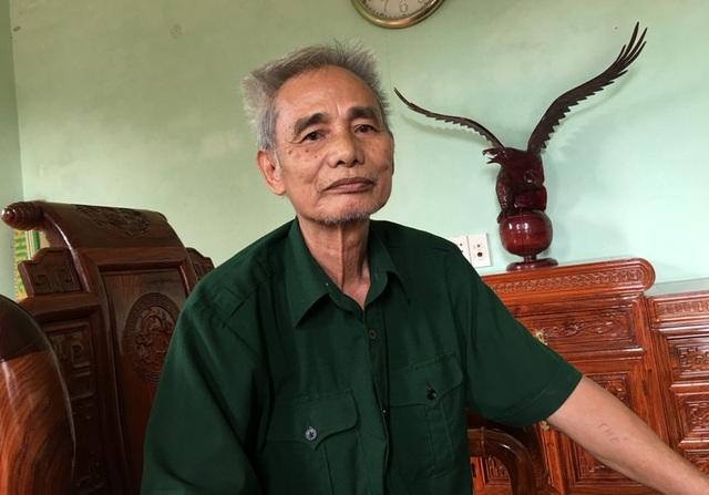 Ông Đinh Quang Huệ, anh trai ông Đinh Quang Biên
