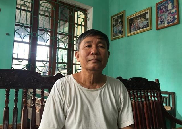 Ông Hoàng Văn Nho (SN 1948) - Đồng đội cùng đơn vị và là người trực tiếp chứng kiến tại thời điểm ông Biên hi sinh