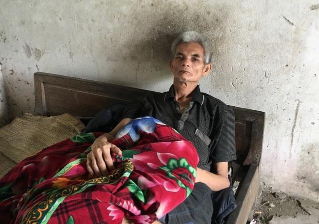 Ông Lê Văn Trung bị bệnh tâm thần hàng chục năm qua