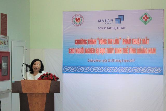 Masan Nutri – Science tài trợ chương trình mổ đục thủy tinh thể cho người nghèo - 1