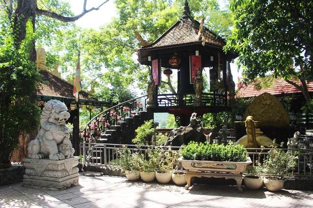 Ngôi chùa mang kiến trúc độc đáo ở phía Tây Nha Trang - 3
