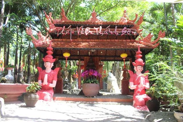 Ngôi chùa mang kiến trúc độc đáo ở phía Tây Nha Trang - 2