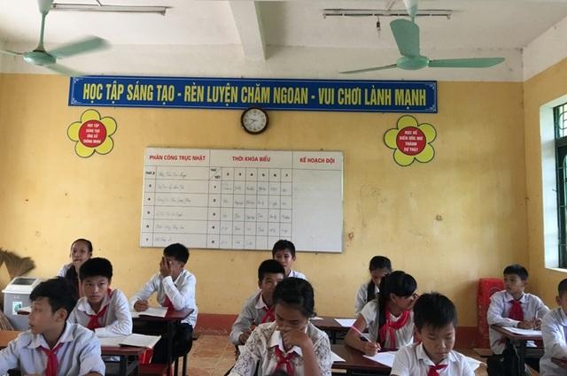Lớp học VNEN nhìn cũng không khác lớp học truyền thống