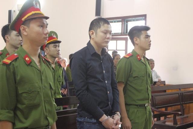 Nguyễn Văn Tiến tại phiên tòa sáng nay