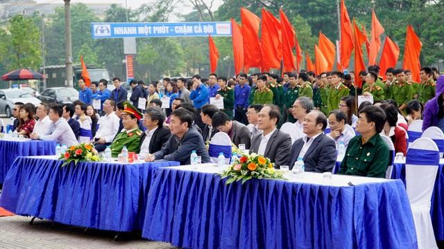 Các đại biểu có mặt tại buổi lễ