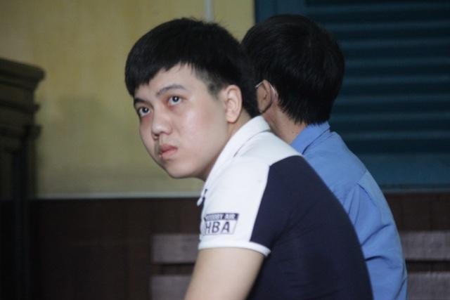 Bị cáo Thành tại phiên tòa.