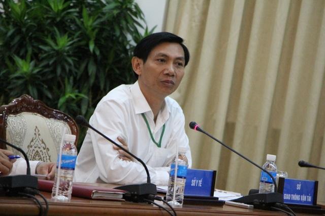 Ông Nguyễn Văn Tám - Phó Giám đốc Sở GTVT TPHCM