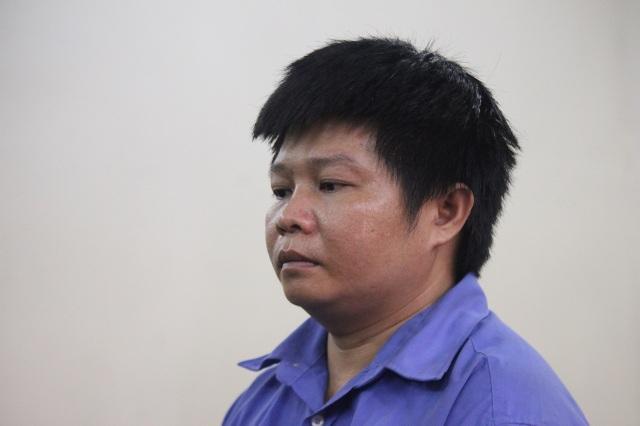 Bị cáo Lộc tại phiên tòa.