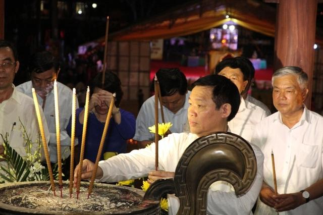 Phó Thủ tướng Vương Đình Huệ tri ân liệt sĩ tại Thành cổ Quảng Trị - 5