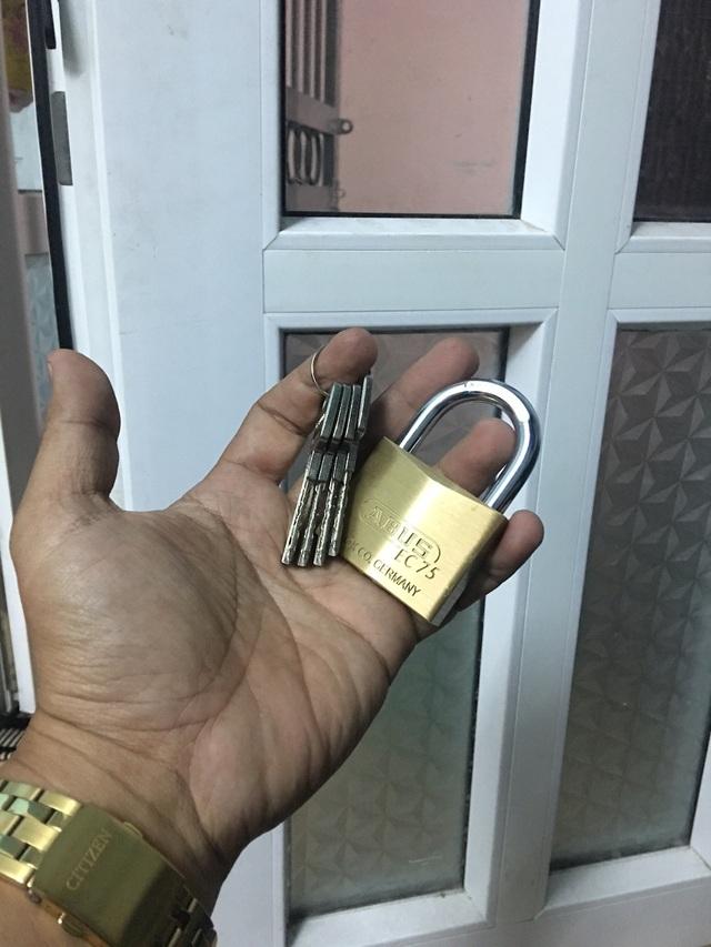 Loại khóa không bị làm giả chìa của Đức hút khách nhưng giá vẫn bình ổn