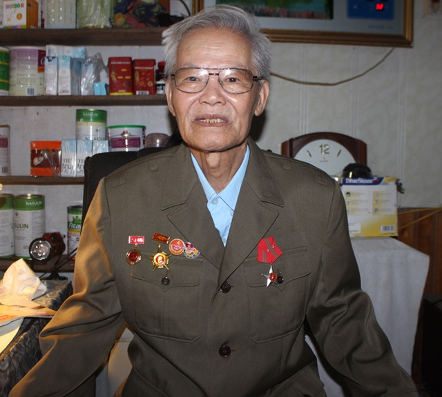 Ông Ngô Sỹ Mậu - người từng tham gia đánh đồi A1 tại chiến dịch Điện Biên Phủ