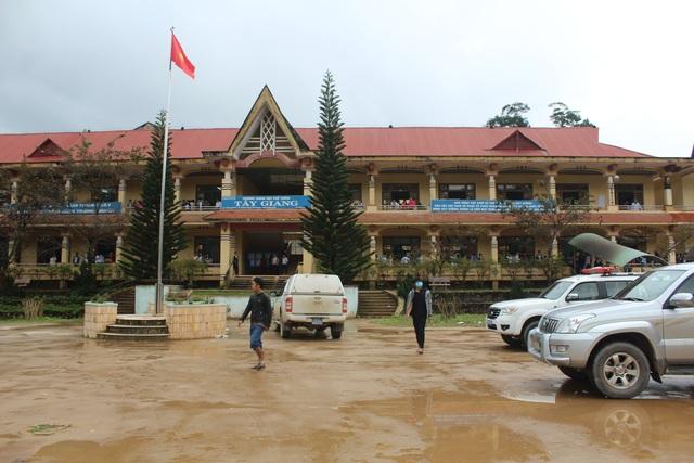 Trường THPT Tây Giang xuất hiện ổ dịch bạch hầu giữa tháng 1/2017