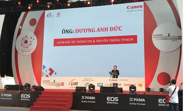 Ông Dương Anh Đức, Giám đốc Sở Thông tin và Truyền thông TPHCM
