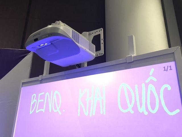 Máy chiếu chống bụi bẩn dành cho môi trường giáo dục