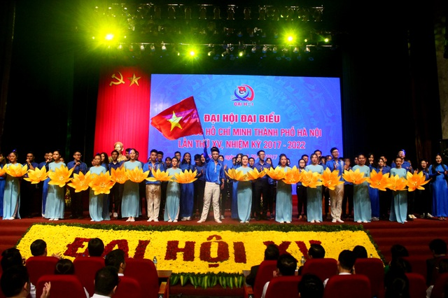 Khai mạc Đại hội Đoàn TP Hà Nội lần thứ XV
