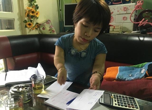 Chị Nguyễn Thị Thu Hiền luôn bận rộn với công việc kinh doanh của mình