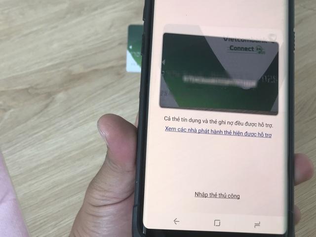 Dùng thử Samsung Pay tại Việt Nam: Nhanh và khá tiện - 2