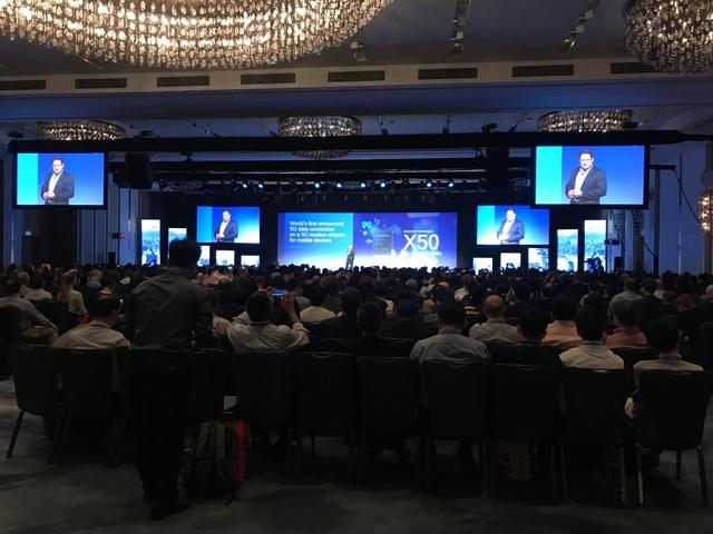 Hội nghị Qualcomm 4G/5G Summit diễn ra tại Hong Kong.