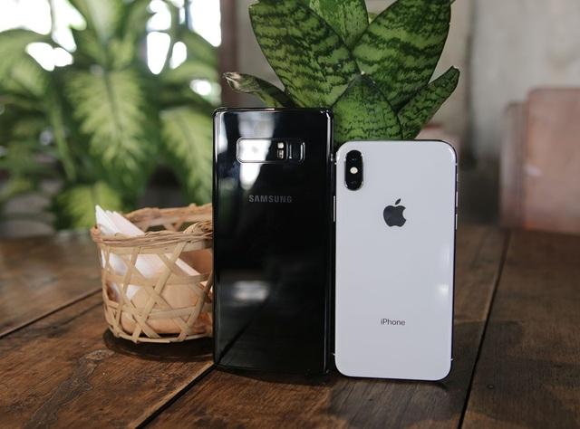 Galaxy Note 8 so kè iPhone X - kẻ tám lạng người nửa cân - 3