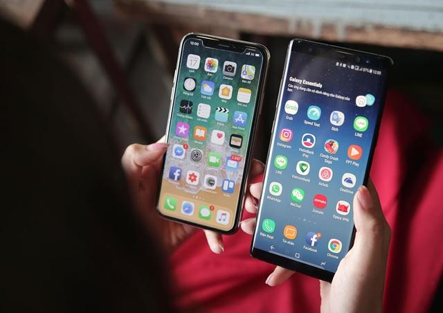 Galaxy Note 8 so kè iPhone X - kẻ tám lạng người nửa cân - 2